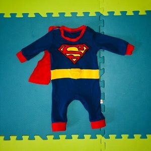 Baby Superman Costume with Cape